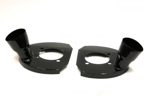 """AWR Ankerbleche 2,5"""" Abschluss für Bremsenkühlung MX-5 NC/RX-8"""