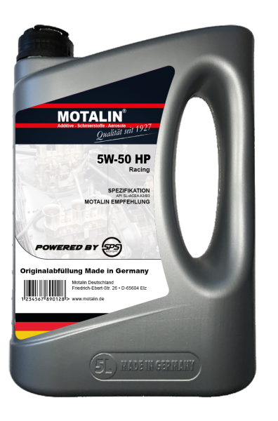 Motalin 5W-50 HP-Sport