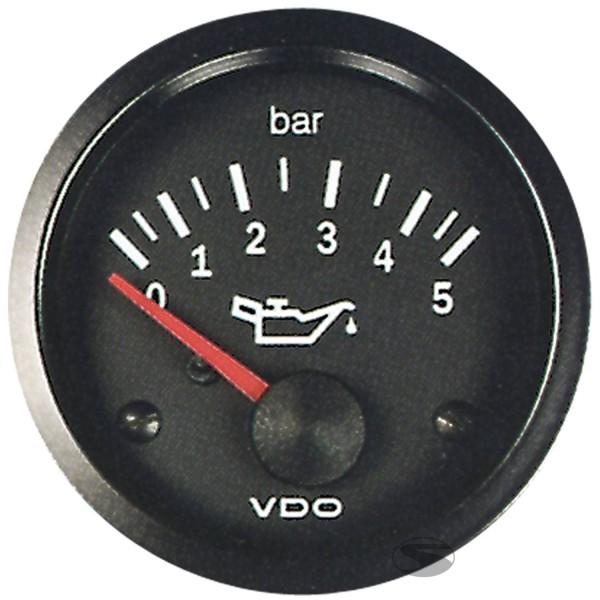 VDO Öldruckanzeige bis 5 bar 52mm