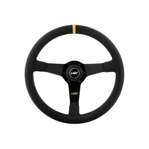 Luisi steering wheel Mirage Corsa 350mm leather