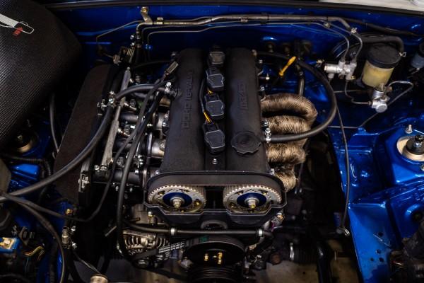 Jenvey Einzeldrosselkit T45 MX-5 NA 1.8