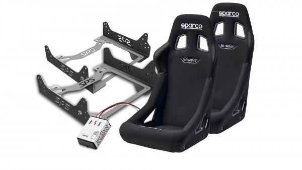 Sitzpaket Sparco Sprint MX-5 NBFL