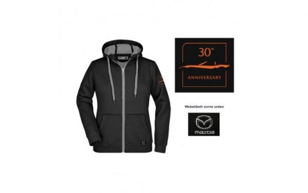 Mazda 30th Anniversary Sweatjacke Damen