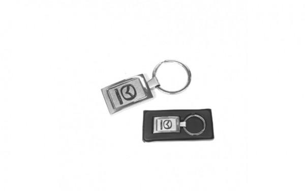 Mazda Logo keychain silver