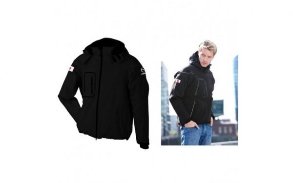 Mazda winter softshelljacket black Men