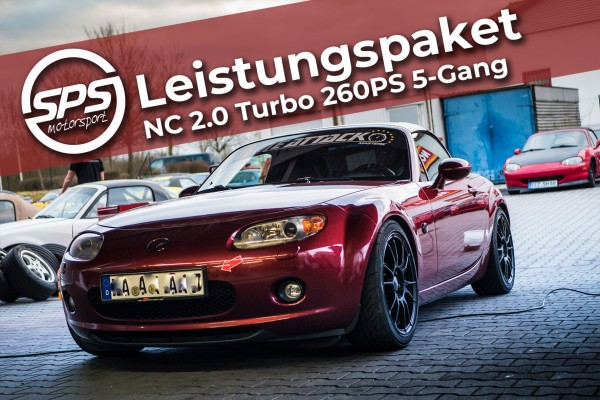 Leistungspaket NC 2.0 Turbo 260PS 5-Gang