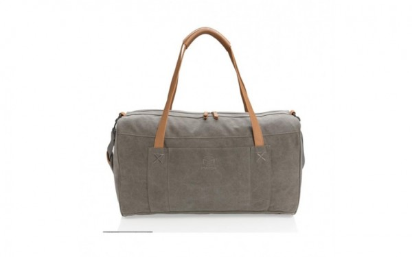 Mazda canvas/leather travelling bag