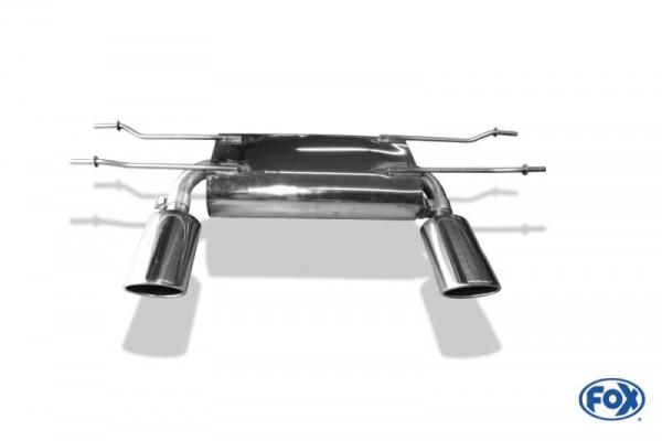 Fox Endschalldämpfer MX-5 ND Duplex 1x115x85 Typ 32