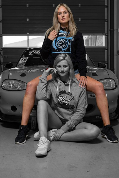 "Hoodie ""Boosted by SPS Motorsport"""
