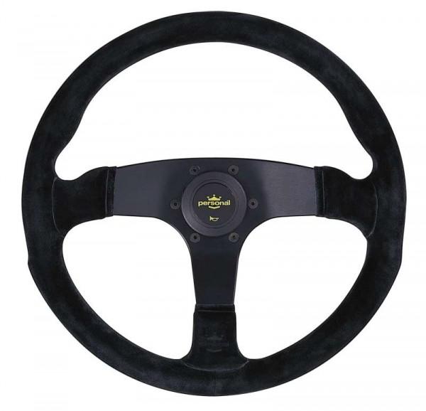 Nardi Personal Corsa Suede Black spokes 350mm