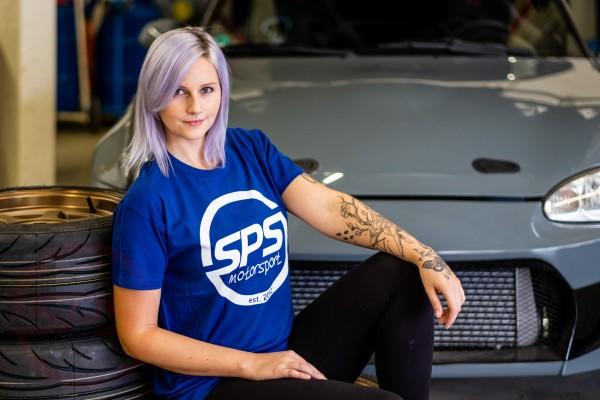 T-Shirt SPS Logo Blau