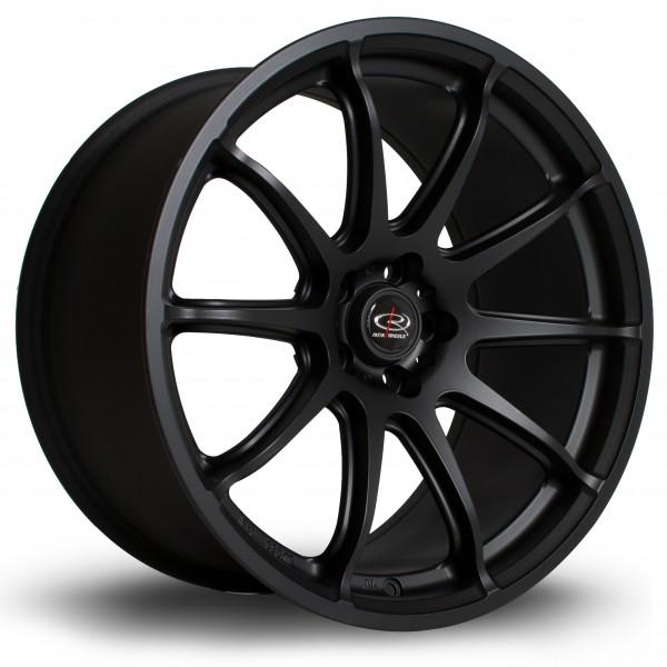 T2R 18x9,5 ET38 5x114 Flat Black