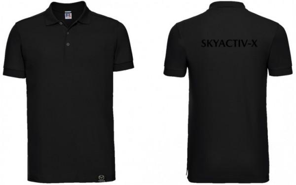 Mazda Skyactive-X Poloshirt Herren