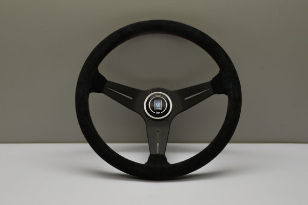 Nardi Lenkrad Black Leather suede Deep Corn 350mm