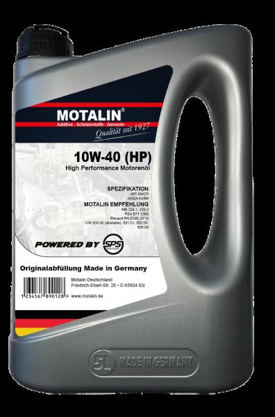 Motalin 10W-40 HP / Einlauföl