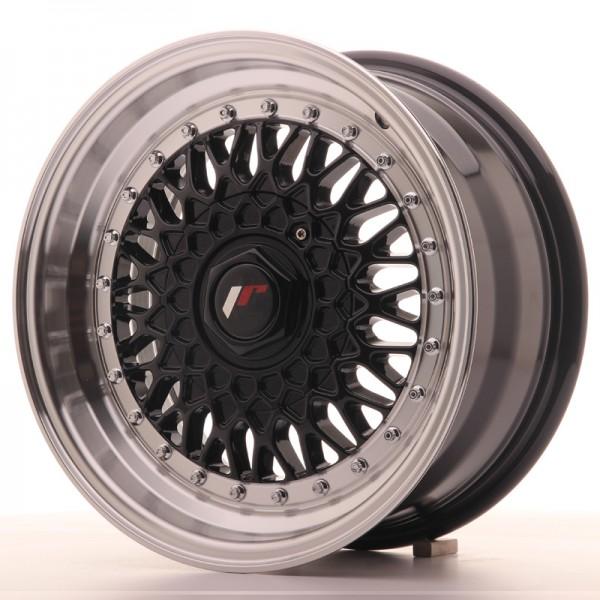 JR9 15x7 ET20 4x100/108 Black