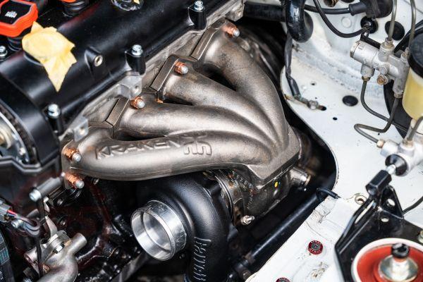SPS Motorsport Turbokrümmer T25 Flansch 1,8L BP Lowmount