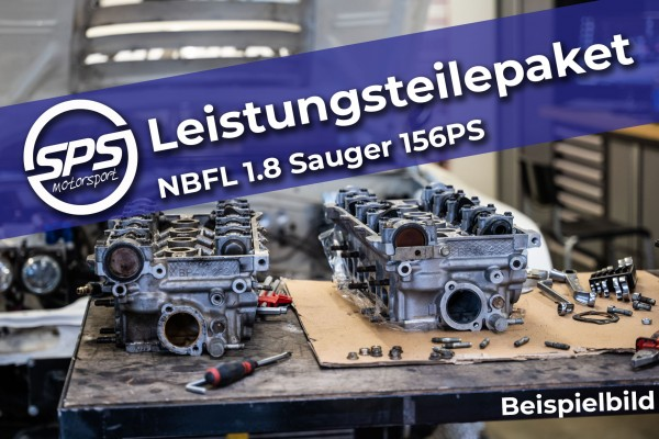 Performance parts package NBFL 1.8 naturally aspirated 156hp