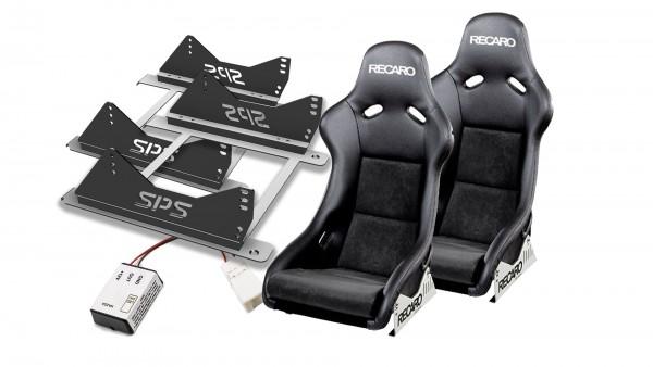 Sitzpaket mit Recaro Pole Position Kunstleder/Dinamica MX-5 ND