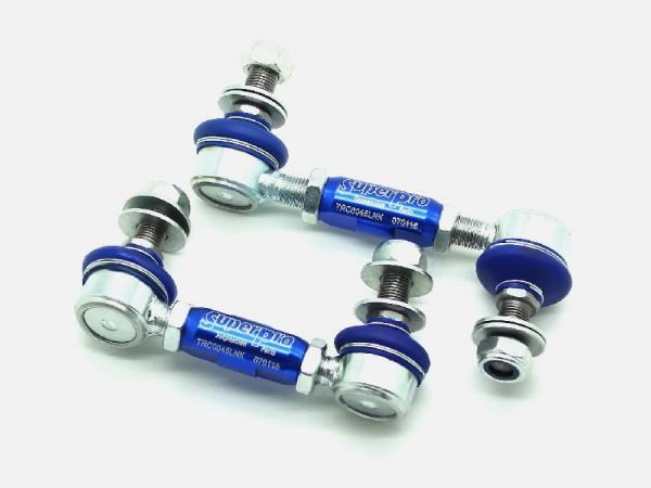 SuperPro coupling rods reinforced adjustable rear axle