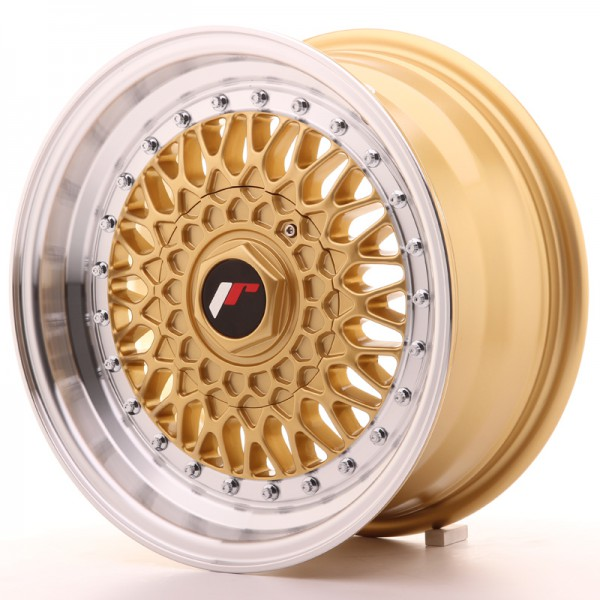 JR9 15x7 ET20 4x100/108 Gold