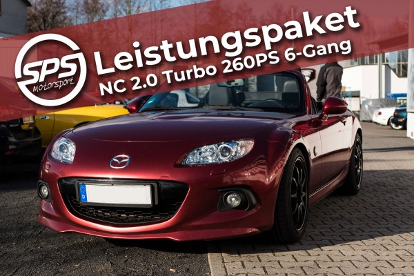 Leistungspaket NC 2.0 Turbo 260PS 6-Gang