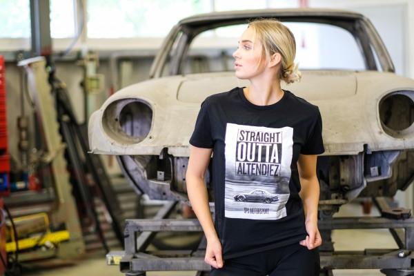 """T-Shirt """"Straight Outta Altendiez"""" grüner NA"""