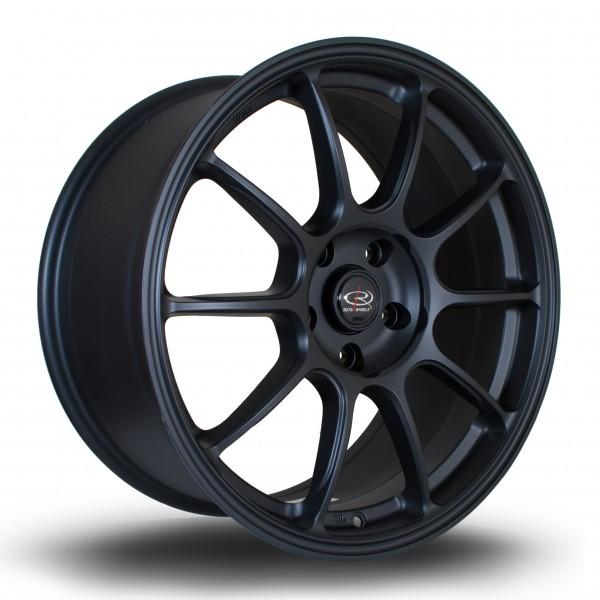 SS10 18x8,5 ET44 5x114 Flat Black