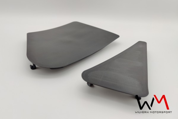 Abdeckungen für Haubenentlüftungen Fahrerseite MX-5 NA