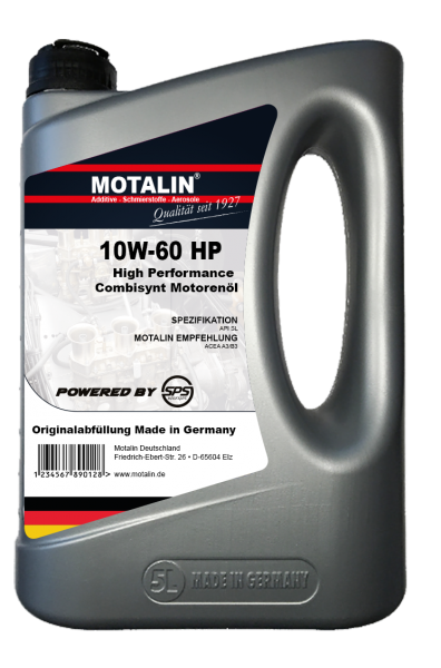 Motalin 10W-60 HP-Racing