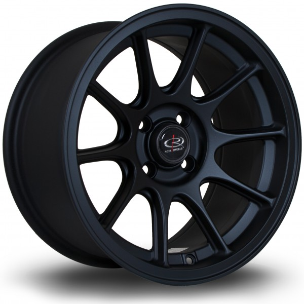 Strike 15x8 ET20 4x100 Flat Black