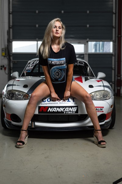 """T-Shirt """"Boosted by SPS Motorsport"""""""