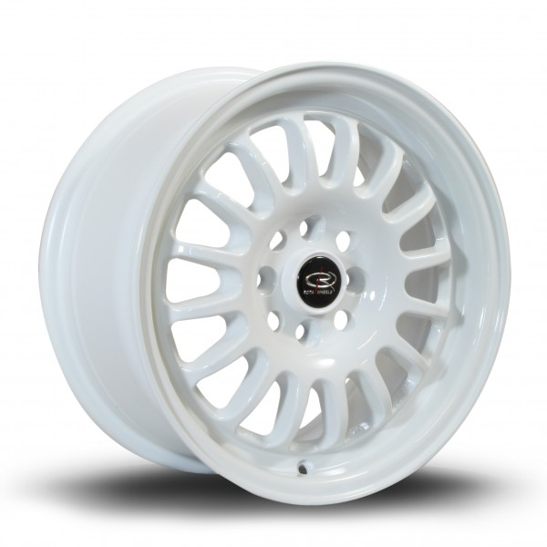 Track-R 15x7 ET40 4x100 White