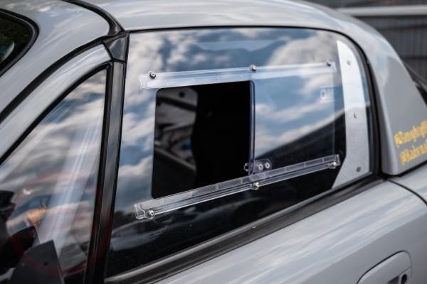 Slider Fenster für Fahrerseite Makrolon