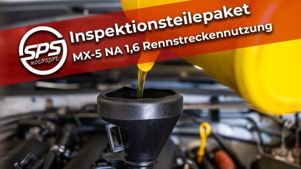 Inspektionsteilepaket MX-5 NA 1,6 Rennstreckennutzung